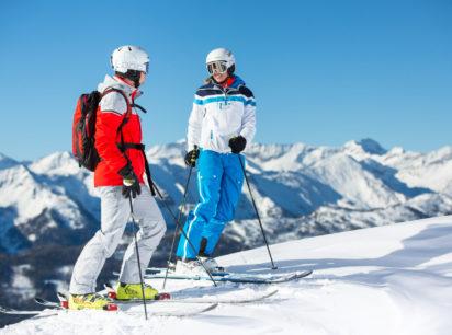 skifahren in der biosphaere lungau