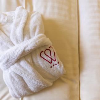 Hotel Wastlwirt - Kuscheliger Bademantel