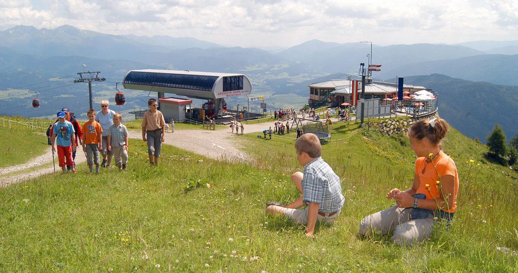 Wandern beim Hotel Wastlwirt - Bergbahnen Lungau