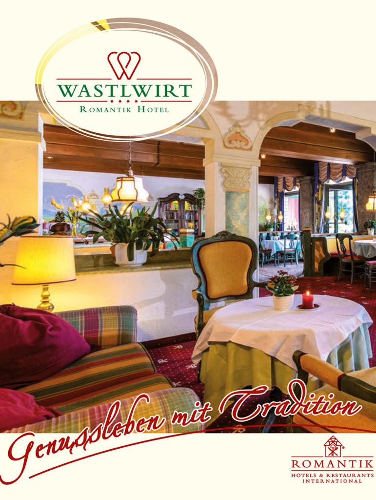 Hotel Wastlwirt - Titelseite Genussleben