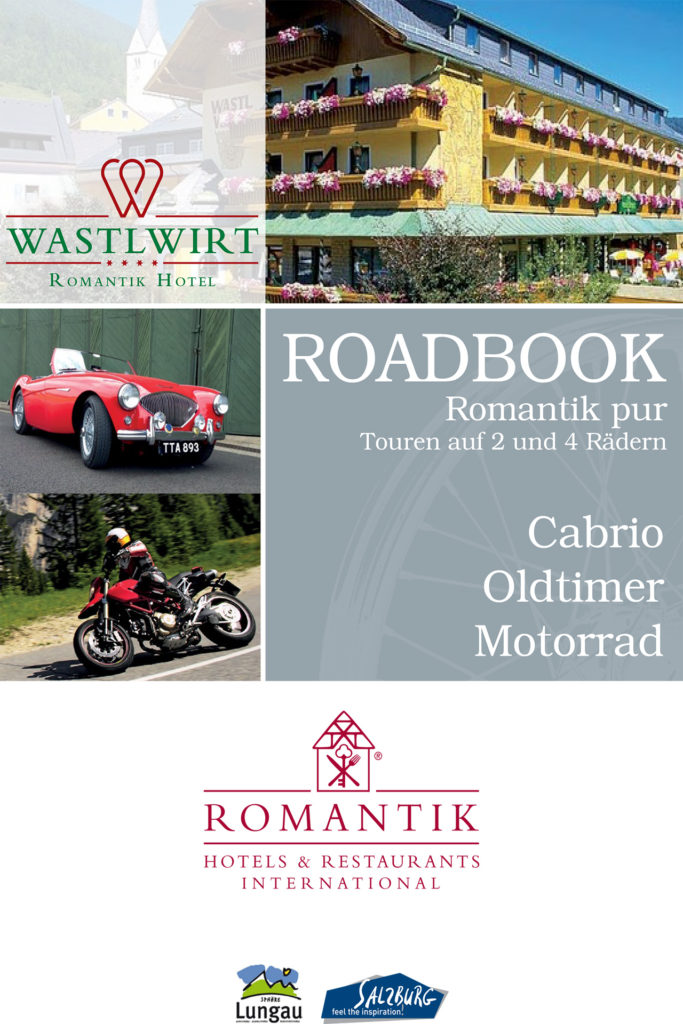 Hotel Wastlwirt - Titelseite Roadbook