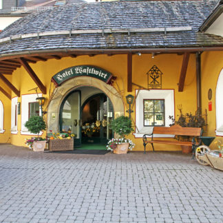 Hotel Wastlwirt Eingang