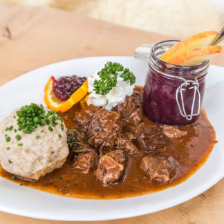 Kulinarik im Hotel Wastlwirt - Widragout