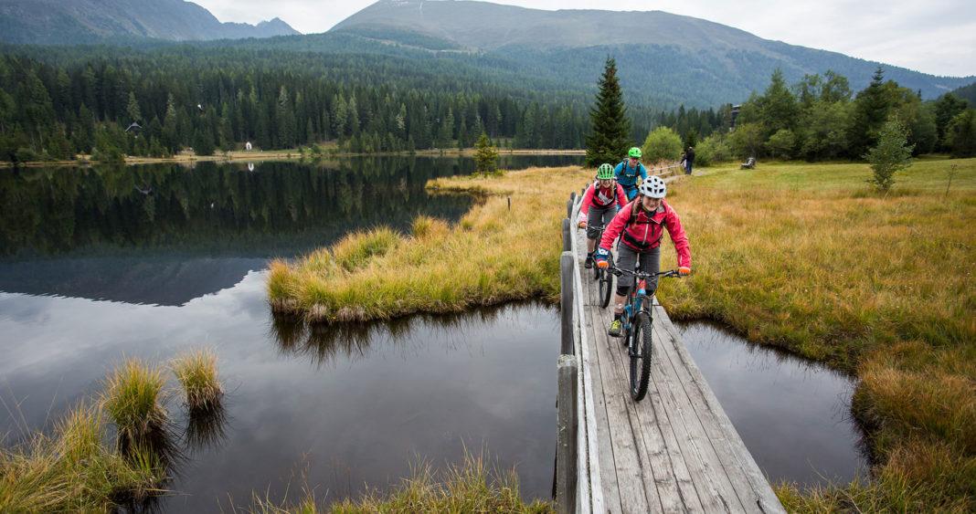 Mountainbiken beim Hotel Wastlwirt