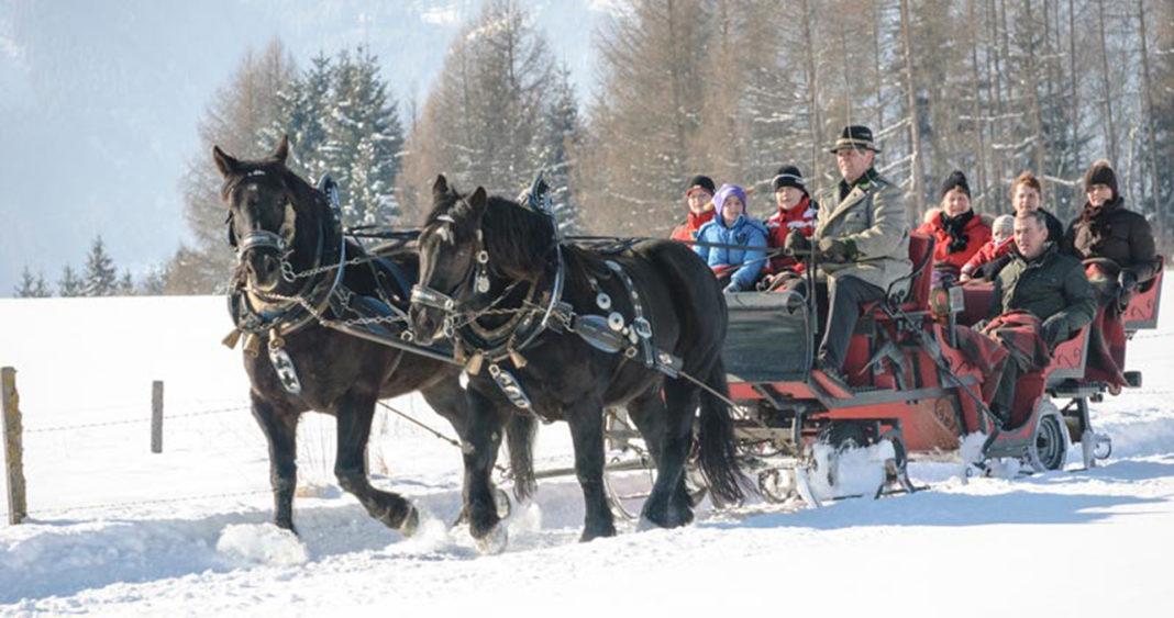 Hotel Wastlwirt - Pferdeschlittenfahrt